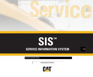 نرم افزار CAT SIS 2018 | کاتالوگ ، شماره فنی قطعات ، نقشه ها